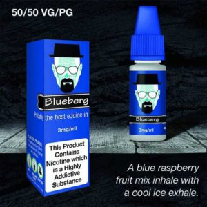 blueberg 3mg 30ml vaping e liquid
