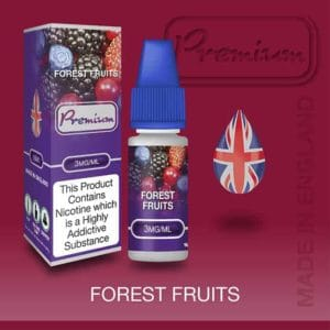 forest fruits 3mg 30ml vaping e liquid