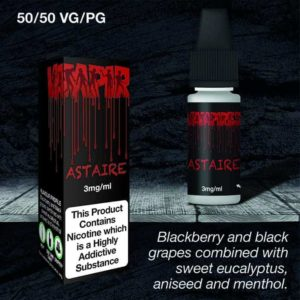 astaire 30ml 3mg vaping e liquid