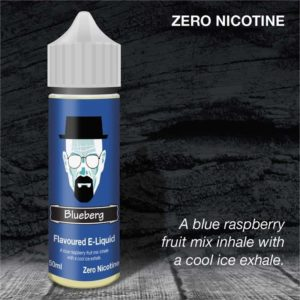 Dripping Range Blueberg flavoured 50ml Zero Nicotine Vaping E Liquid