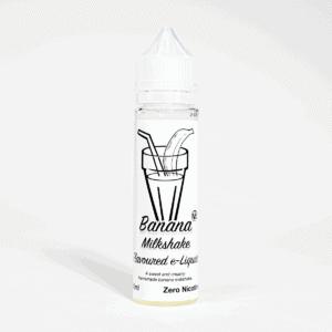 Eco Vape Milkshake Range Banana 50ml shortfill