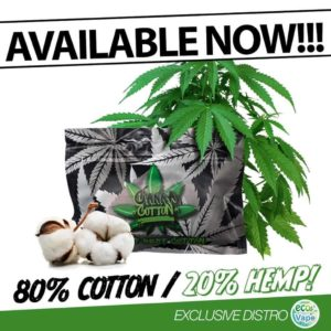 Canna cotton advertisement 80% cotton 20% hemp