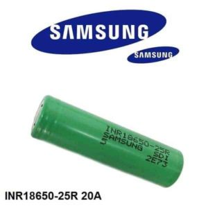 image of samsung 25r battery
