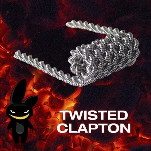 Psycho Bunny Twisted Clapton graphic