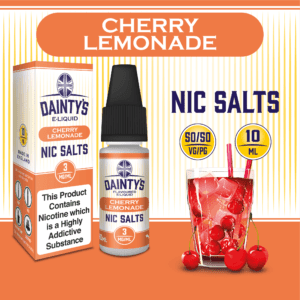 Daintys Cherry Lemonade 10ml flavour nic salts