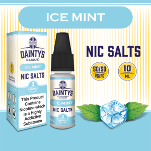Daintys Ice Mint 10ml flavour nic salts