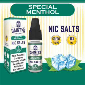 Daintys Special Menthol 10ml flavour nic salts