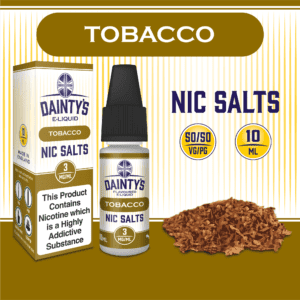 Dantys Tobacco 10ml flavour nic salts