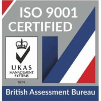 ISO 9001 Certified Badge for Eco Vape provided by UKAS Management Systems