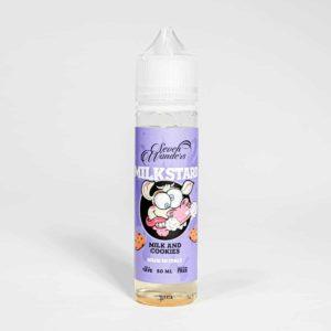 Eco Vape Vapour Art Range Milkstard Flavour 50ml Shortfill