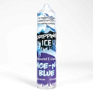 Eco Vape Dripping Range Nice N Blue Flavour 50ml Shortfill