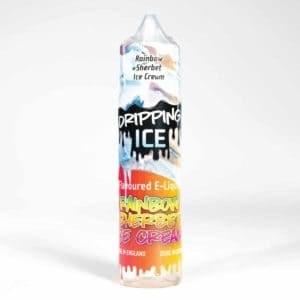 Dripping Range Rainbow Sherbet Ice Cream 50l shortfill