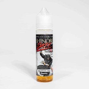 Eco Vape Vapour Art Range Shinobi Dark Flavour 50ml Shortfill