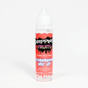 Eco Vape Dripping Range Strawberry Mix Up Flavour 50ml Shortfill