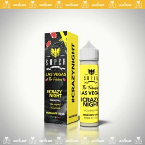 SuperFlavor Crazy Night flavoured nicotine 50ml e liquid