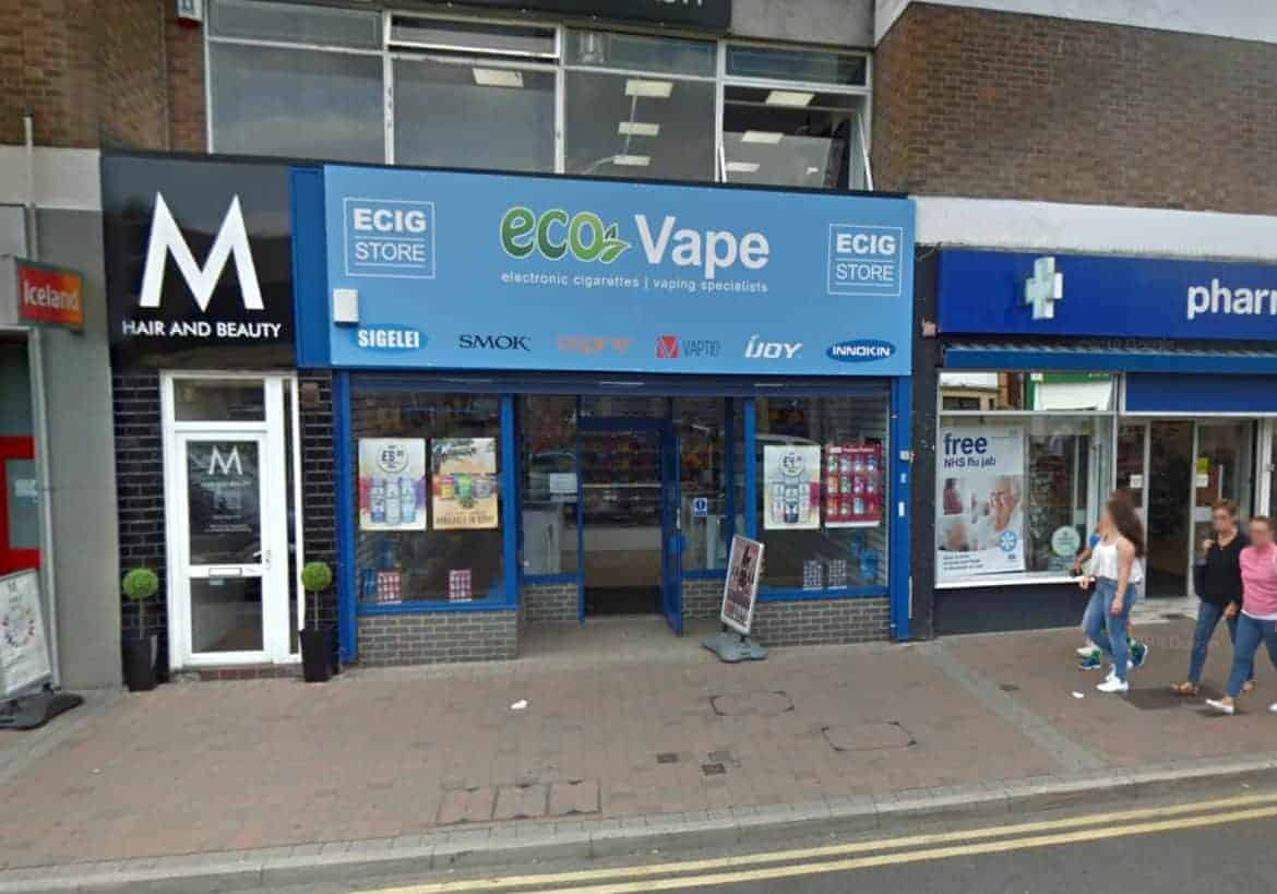 Eco Vape shop Arnold