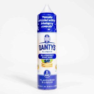 EcoVape Dainty's range Blueberry Pancake 50ml Shortfill