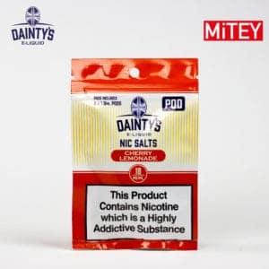 Dainty's Nic Salts Pods Cherry Lemonade