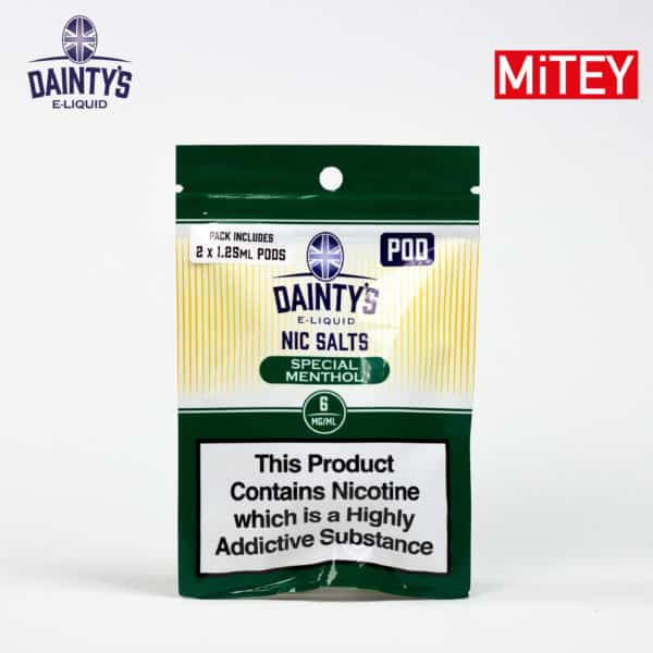 Dainty's Nic Salts Pods Special Menthol