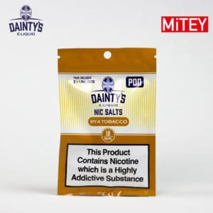 Dainty's Nic Salts Pods RY4 Tobacco