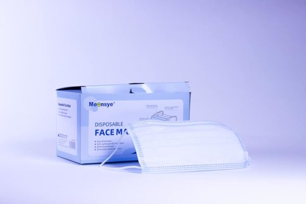 box of face surgical masks