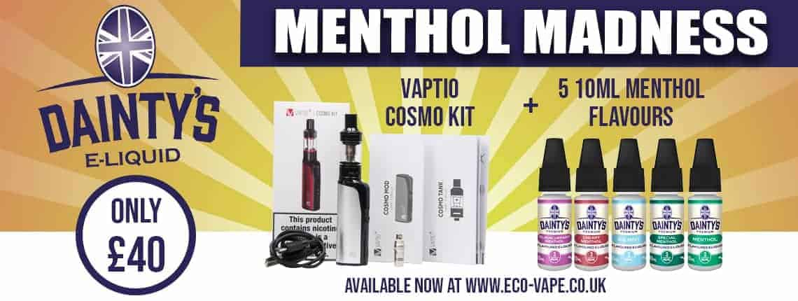 Menthol madness cosmo kit deal bundle