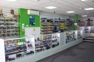 eco vape store shop counter