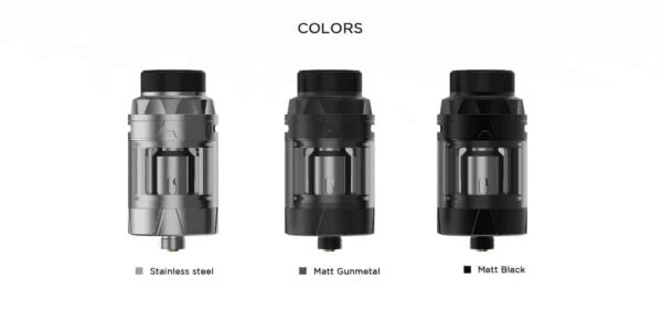Augvape intake sub ohm tank colour options