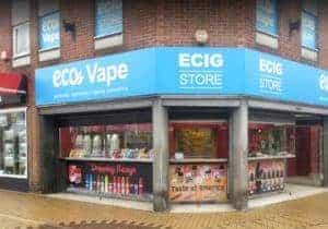EcoVape Sutton In Ashfield Store