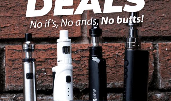 EcoVape Stoptober Deals