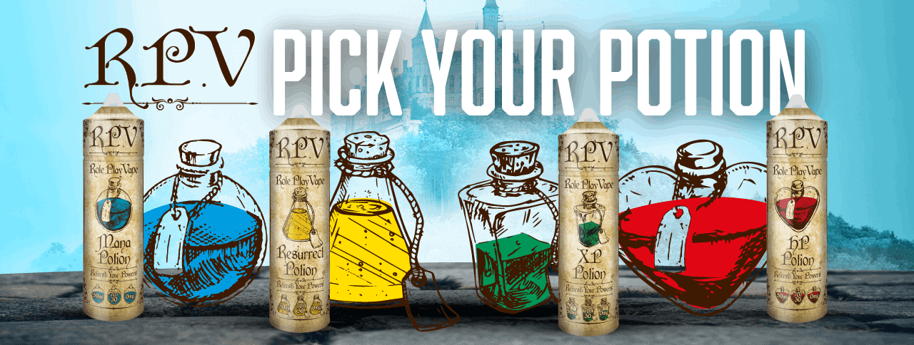Role Play Vape: Pick your Potion!