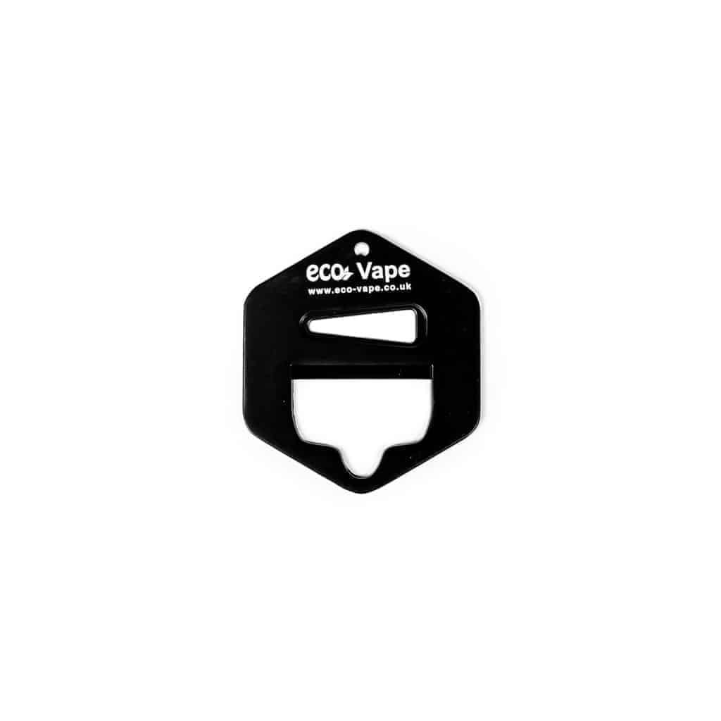 Eco Vape Bottle Opener Hexagon Key Ring