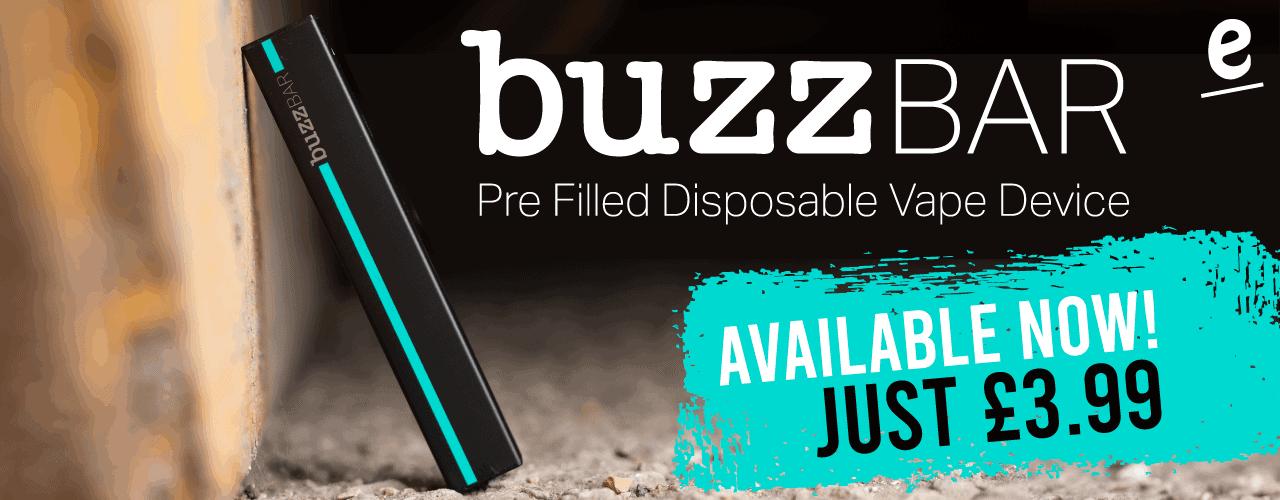 Buzz Bar brand banner