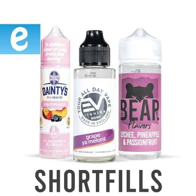 shortfill Eliquids
