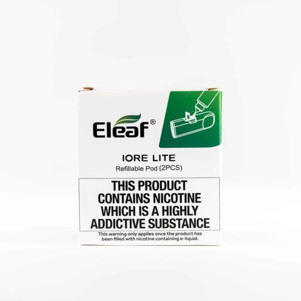 Eleaf iore lite refillable pods 2pcs pack box