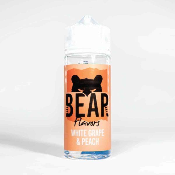 Eco Vape Bear Grizzly Range white Grape Peach 100ml