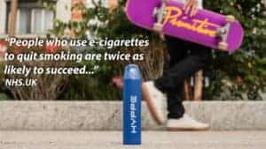 People who used e-cigarettes to quit smoking were twice as likely to succeed as people who used other nicotine replacement products.