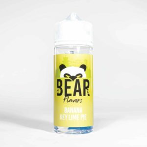 Eco Vape Bear Panda Range Banana Key lime Pie 100ml