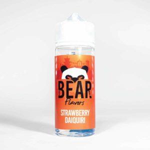 Eco Vape Bear Panda Range Strawberry Daquiri 100ml