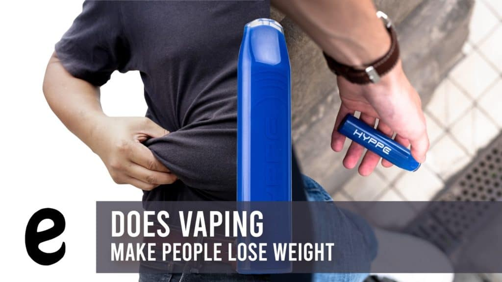 does vaping make people lose weight