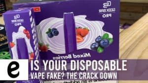 is your disposable vape fake